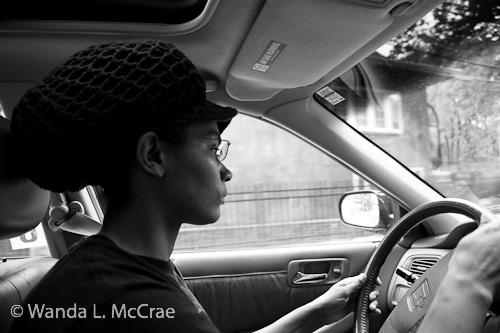 T, driving my car
