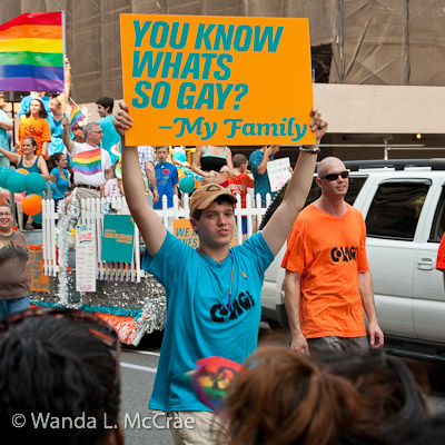 Gay Pride Slogan